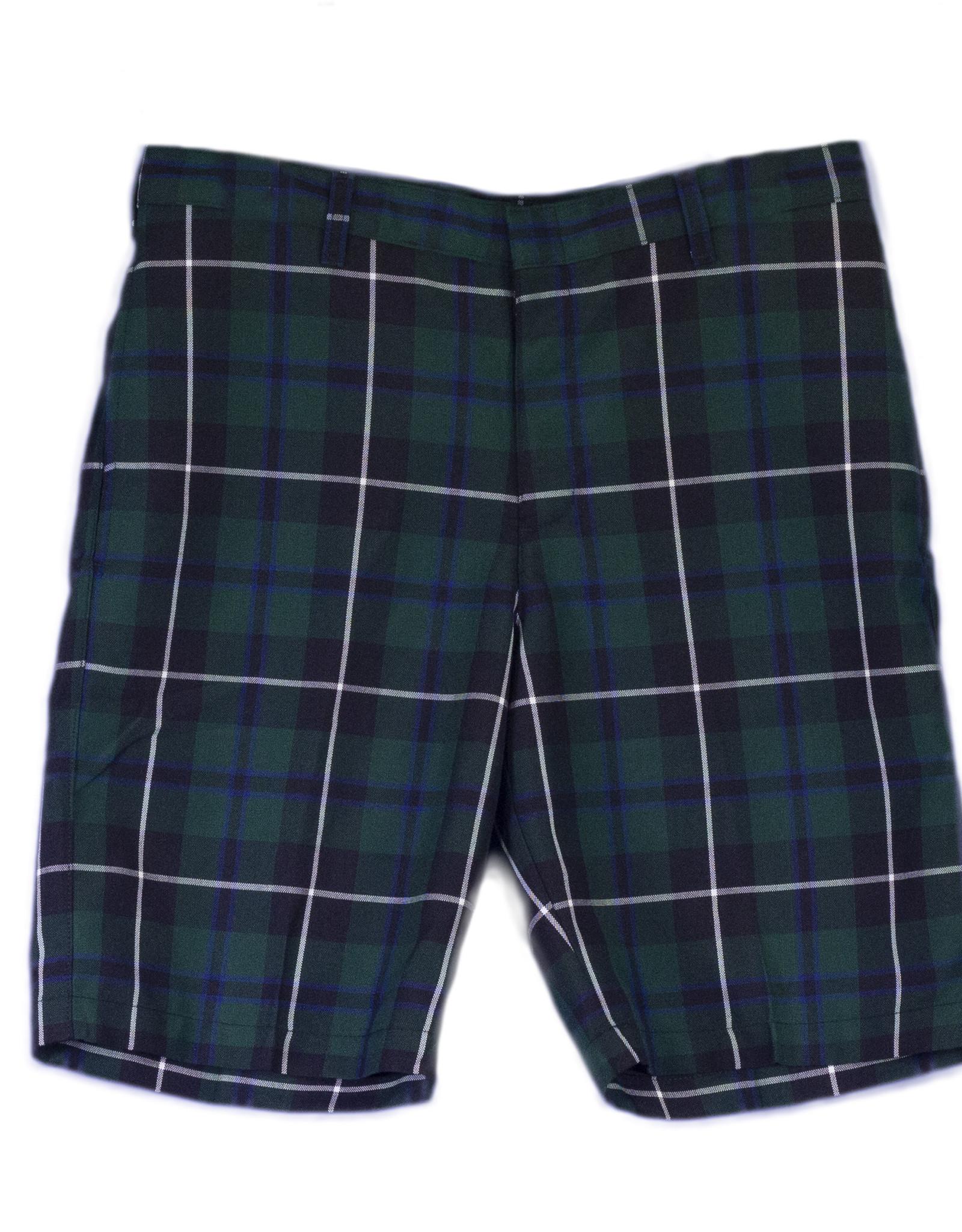 Shorts Plaid Husky Adult