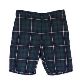 Shorts Plaid Slim Fit Youth