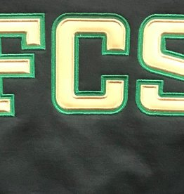 CREW NECK  FCS APPLIQUE ADULT ( PC90)