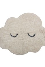 Cotton Cloud Shaped Rug - Cream