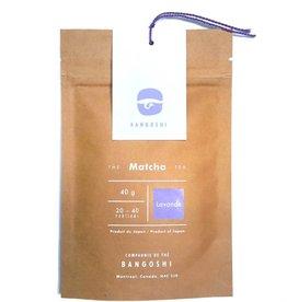 Bangoshi Thé Matcha à la fleur de lavande - 40 g