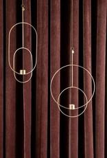 Ferm Living Chandelier Suspendu - Ovale - Laiton