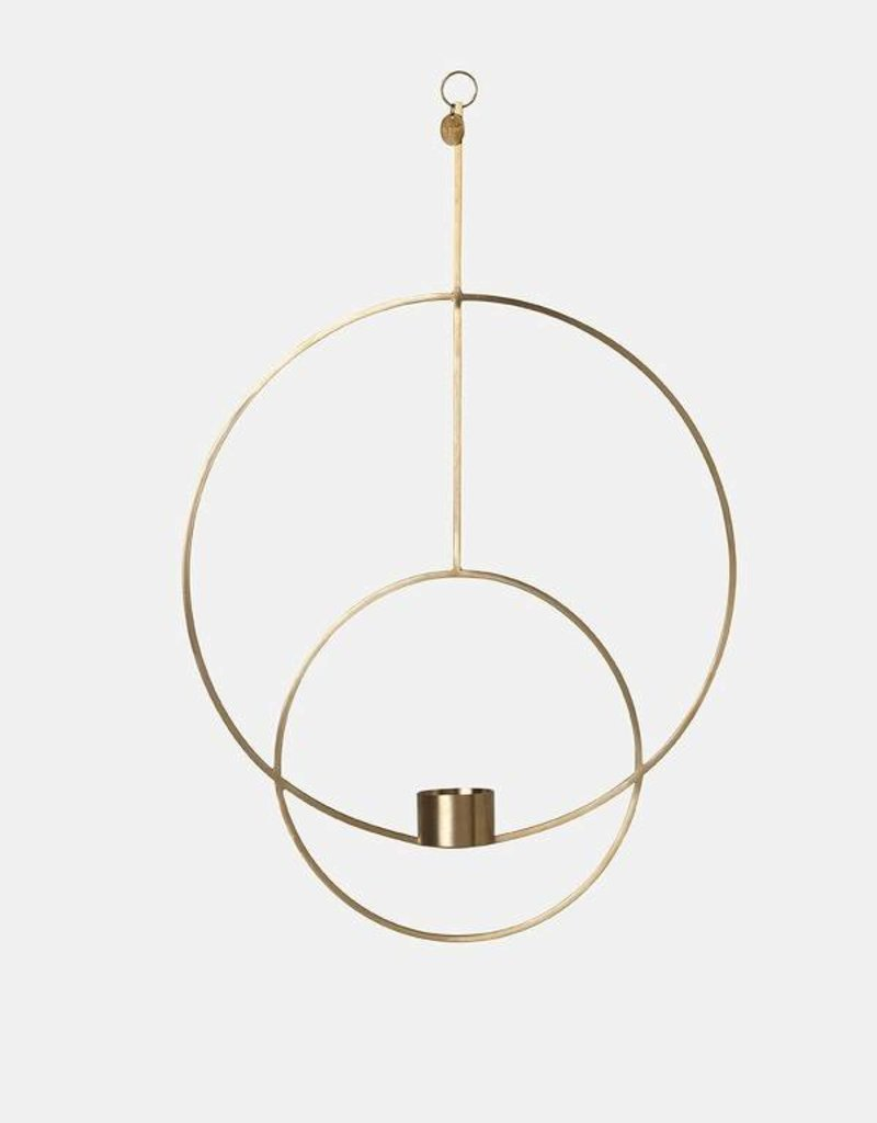 Ferm Living Hanging Tealight - Circular - Brass