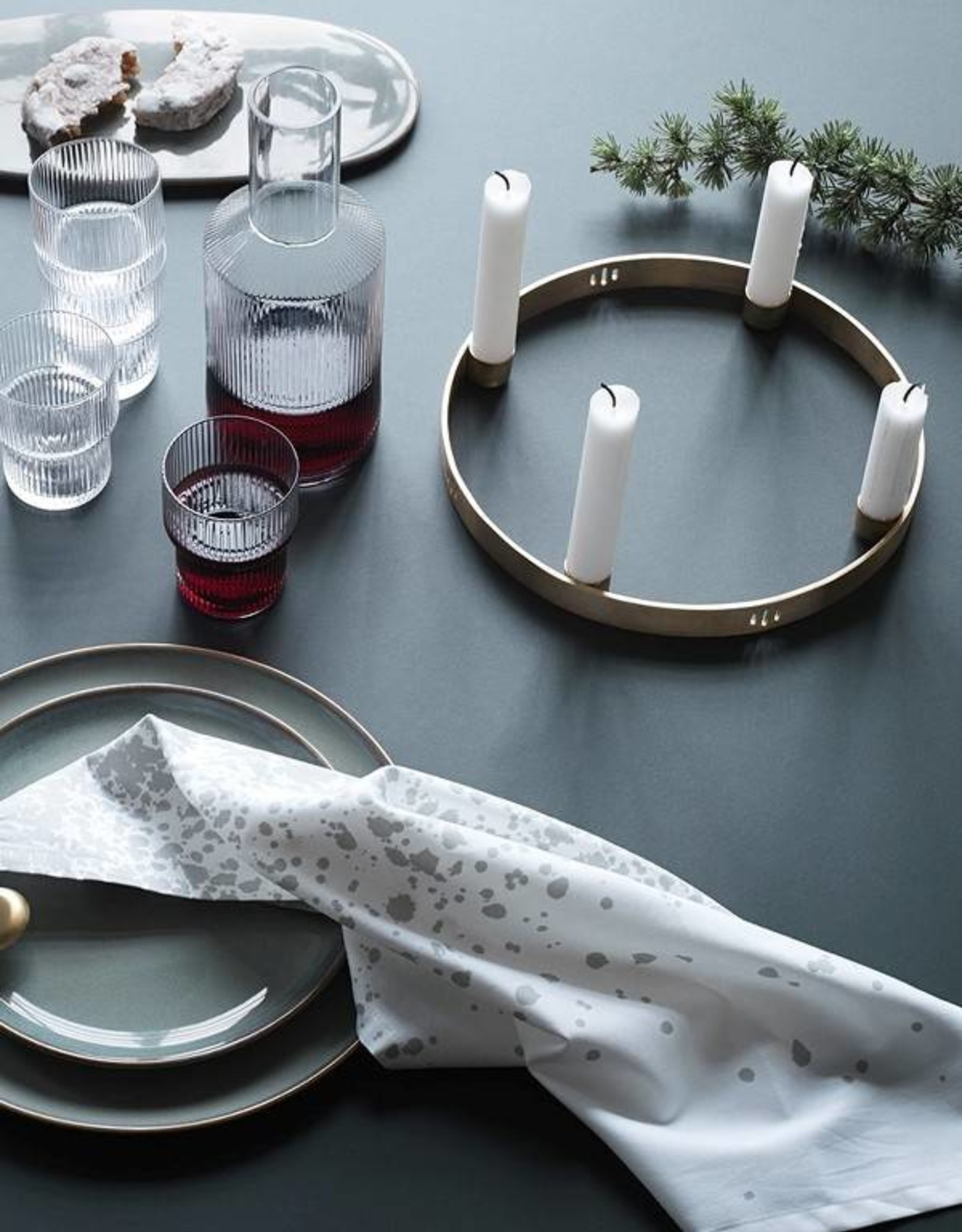 Ferm Living Candle Holder - Circle