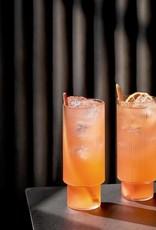 Ferm Living Ripple Long Drink Glasses (Set of 4)