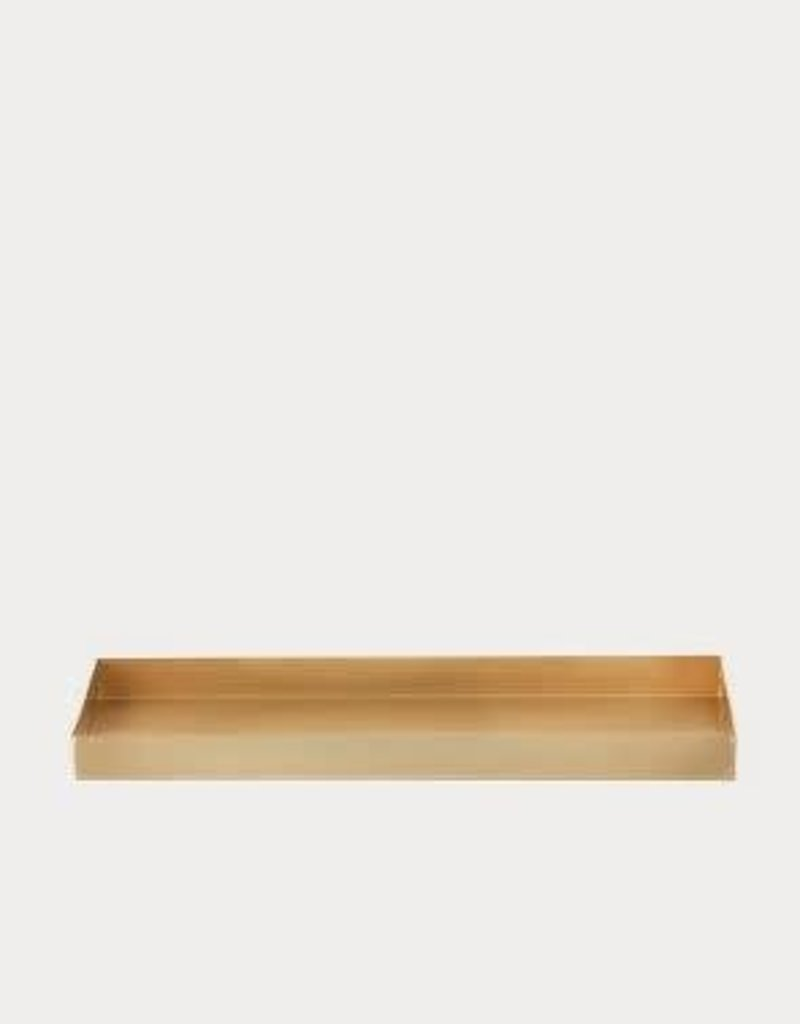 Ferm Living Office Tray - Brass