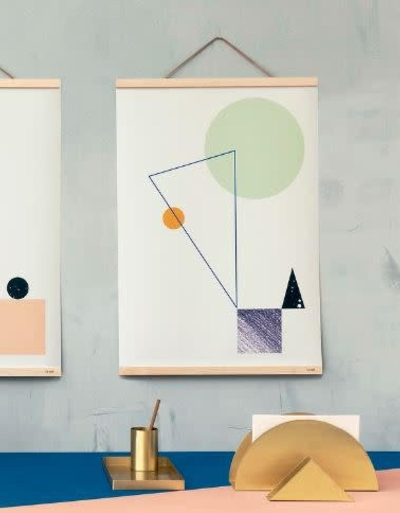 Ferm Living Office Tray - Brass