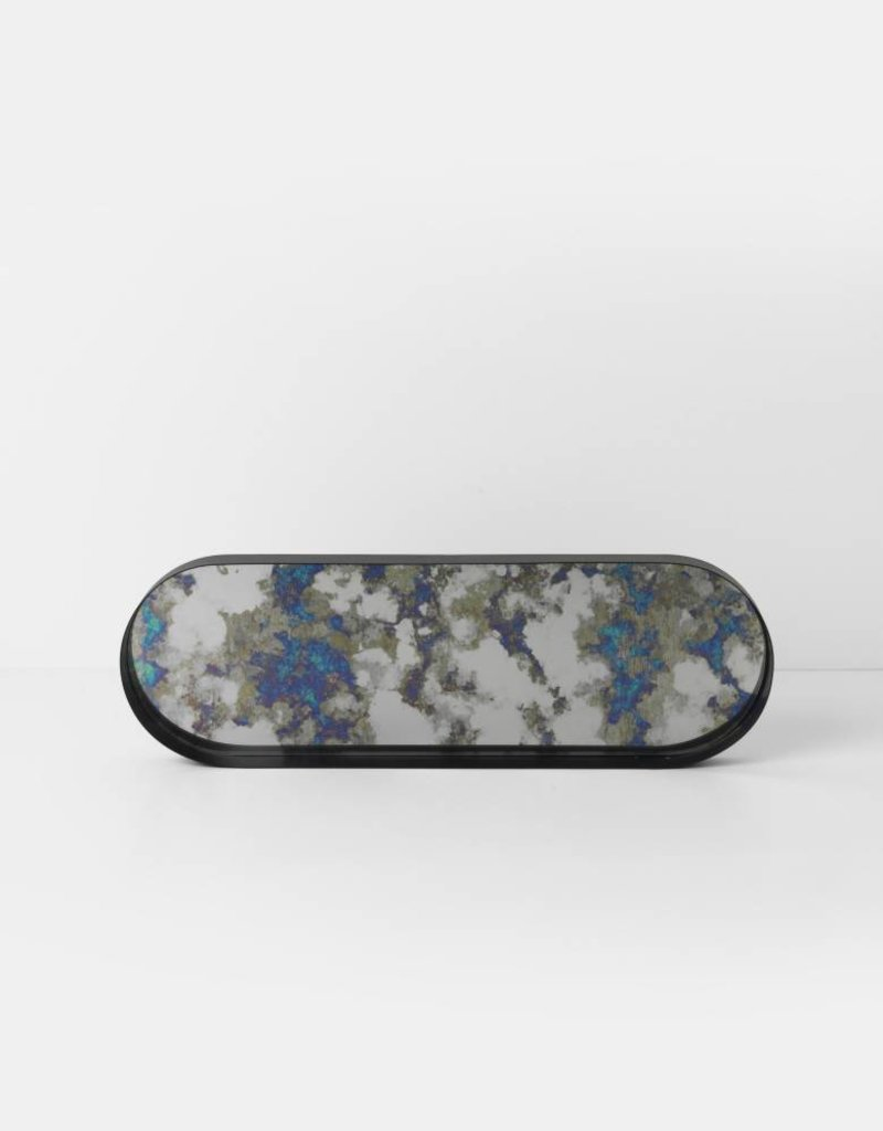 Ferm Living Coupled Tray Oval - Blue