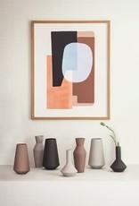 Ferm Living Vase Sculpté Corset - Rouille