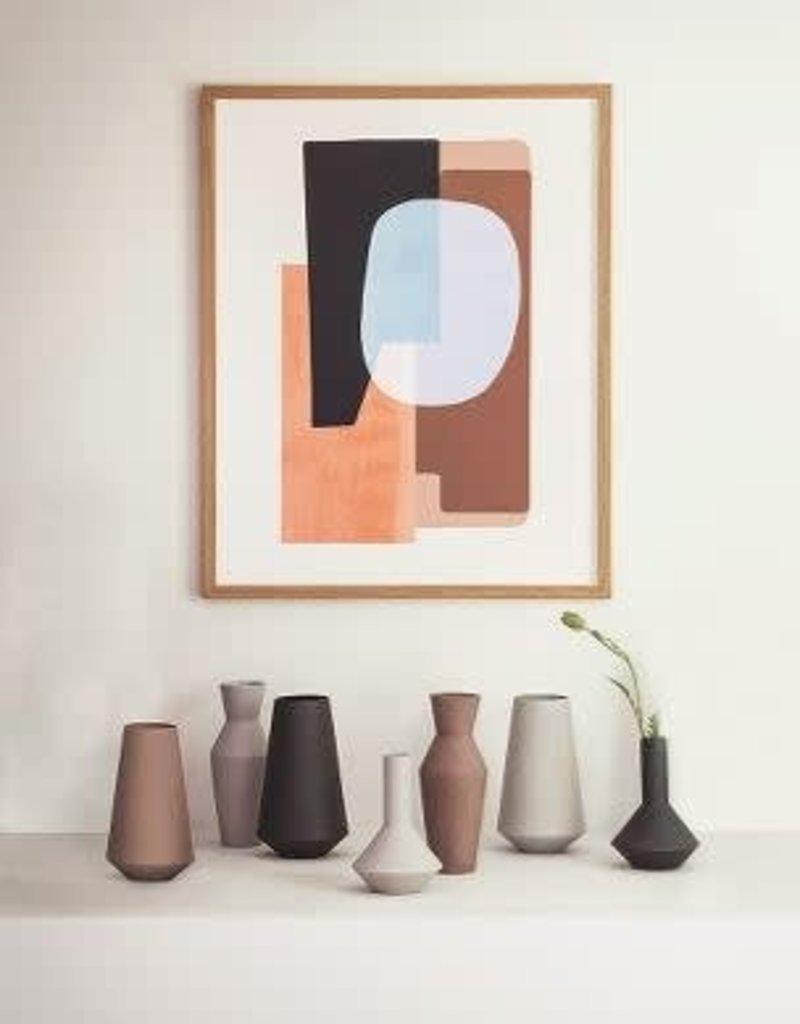 Ferm Living Sculpt Vase Corset - Rust