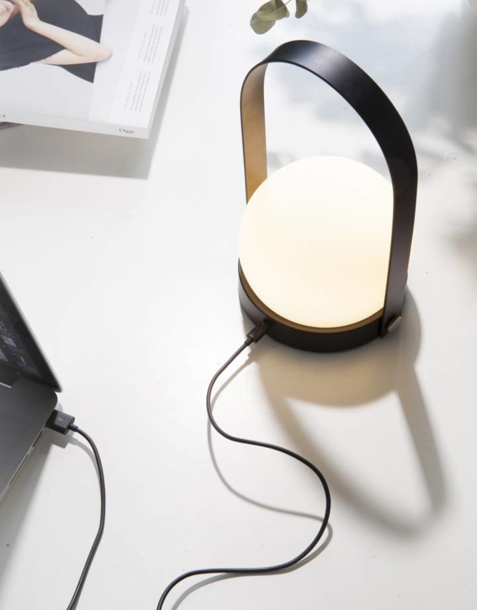 Menu Carrie Portable LED Lamp - Black