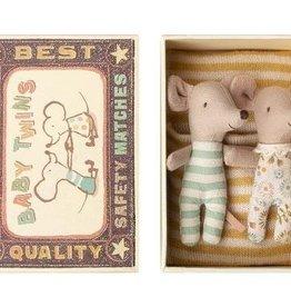 Maileg Souris Bébé - Jumeaux dans la boîte #1