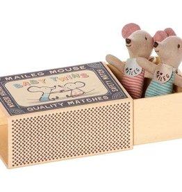 Maileg Souris Bébé - Jumeaux dans la boîte #2