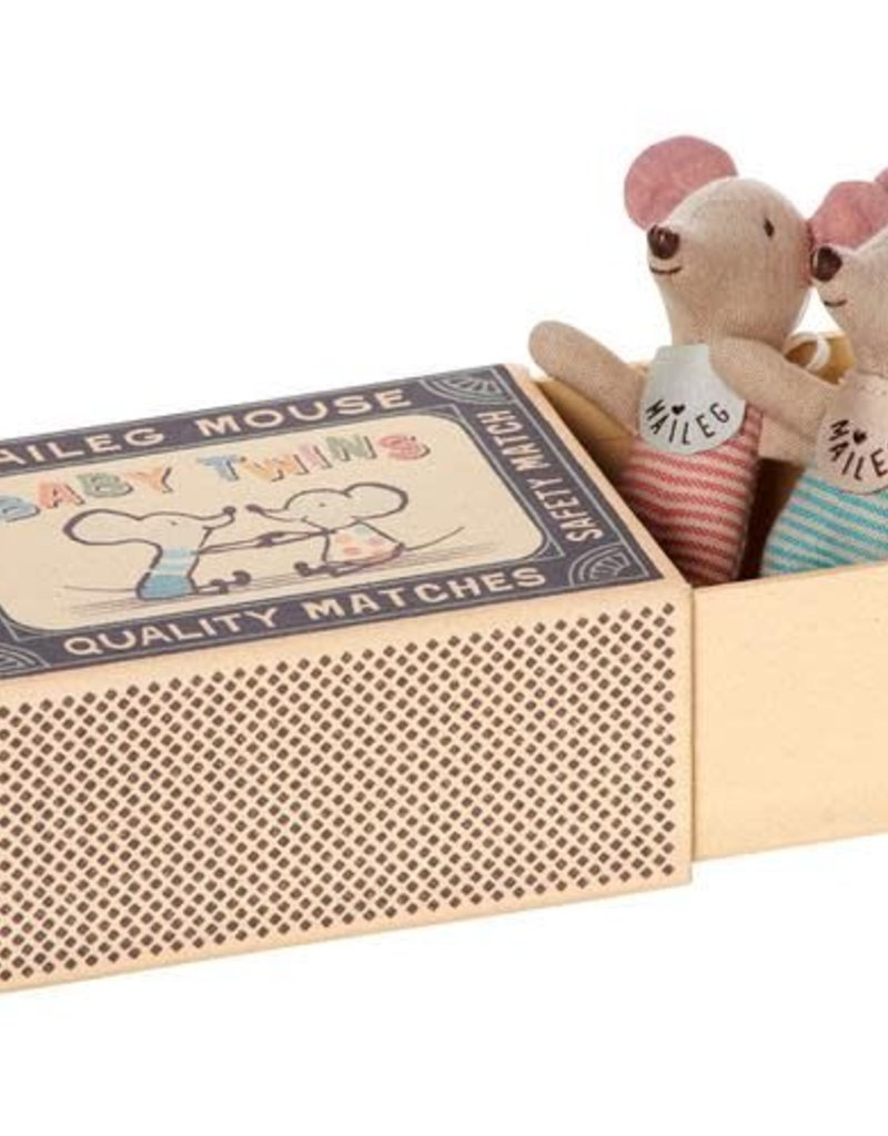 Maileg Baby Mice - Twins in box #2
