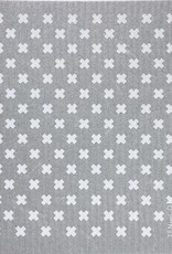 Ten and Co. Sponge Cloth - Tiny X - Grey