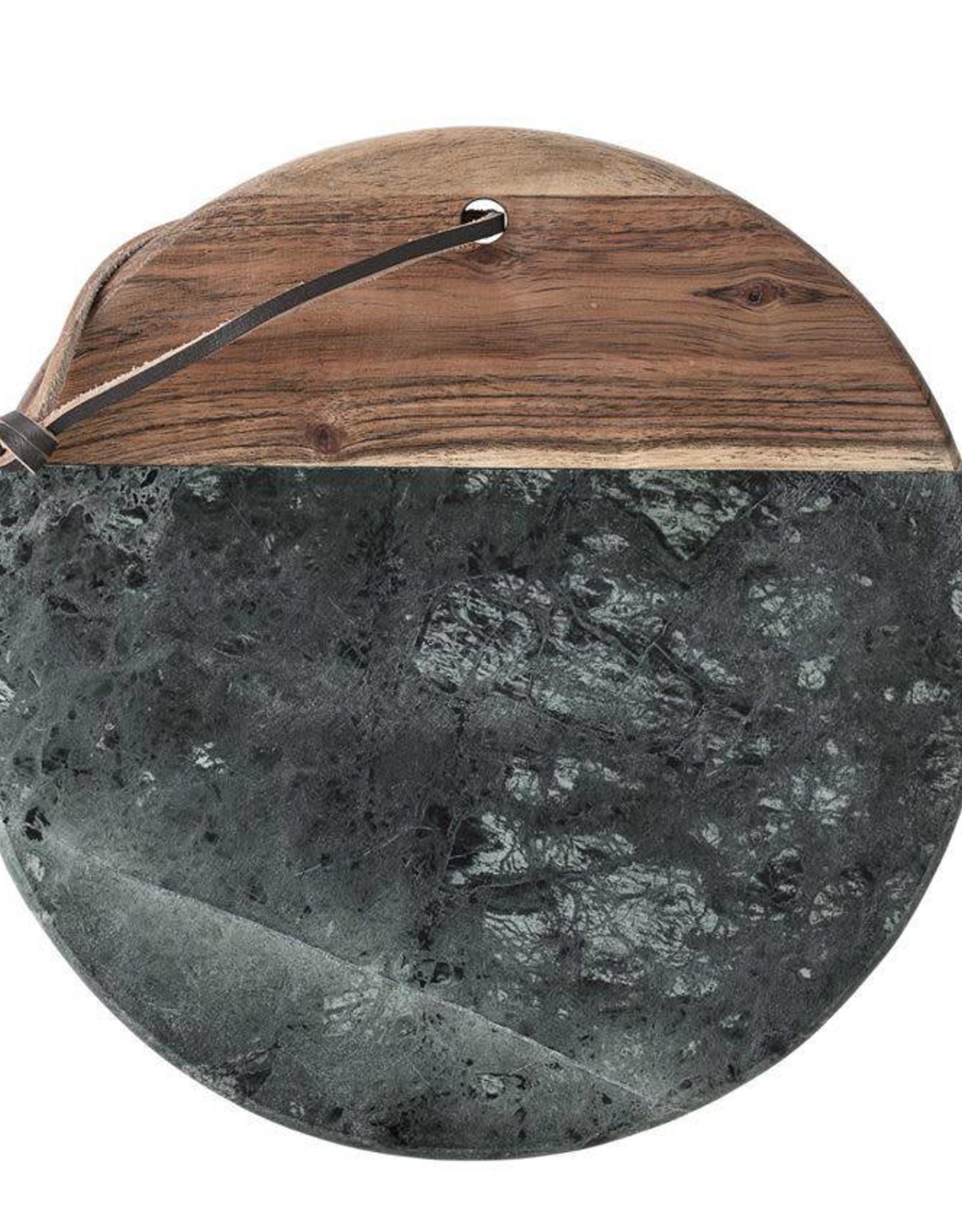 Planche à découper en marbre et acacia