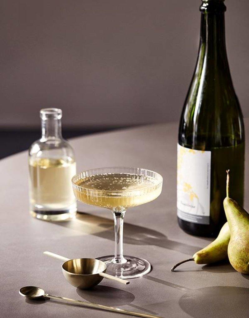 Ferm Living Coupes à Champagne Ripple (Ens. de 2)