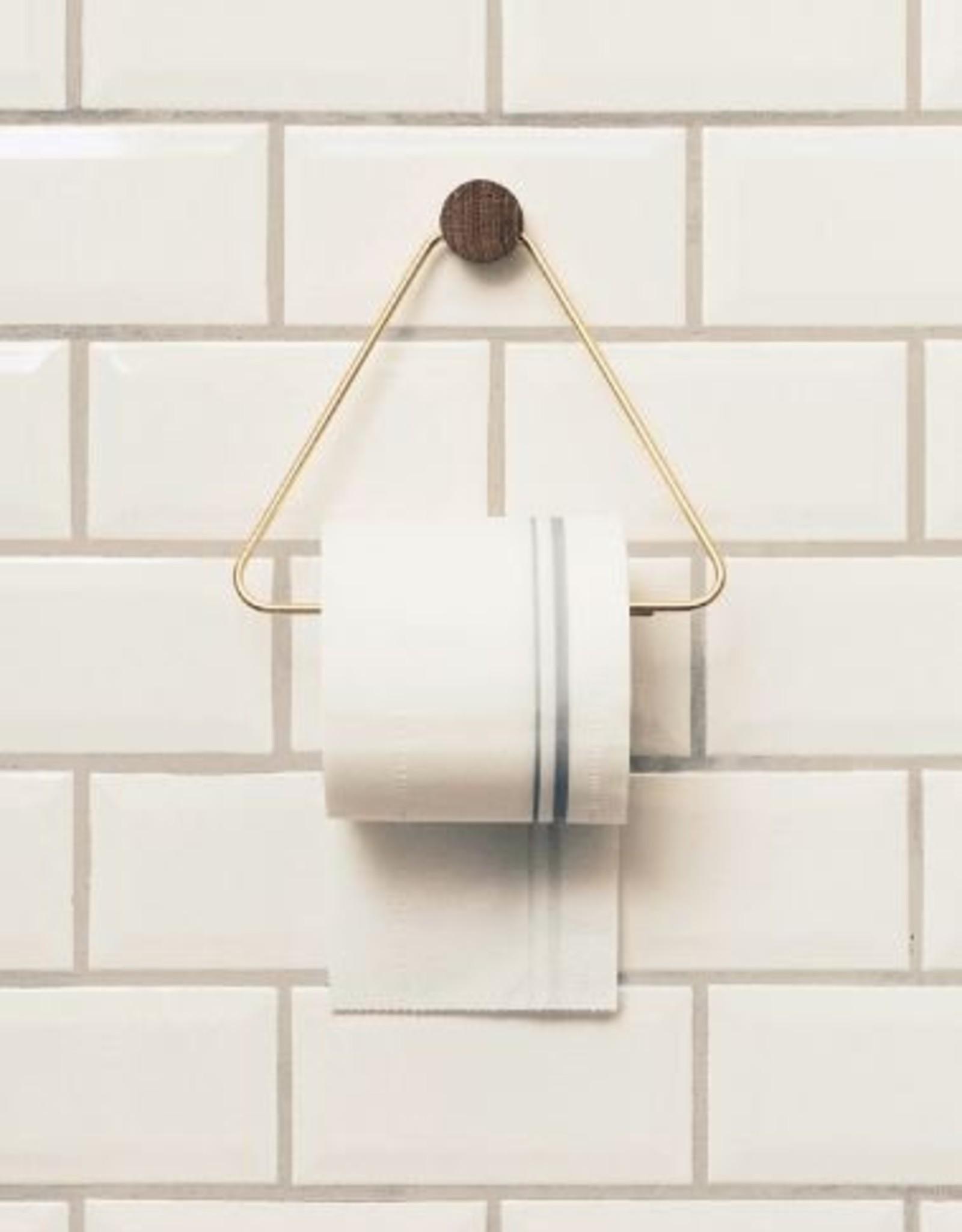 Ferm Living Porte Papier De Toilette - Laiton