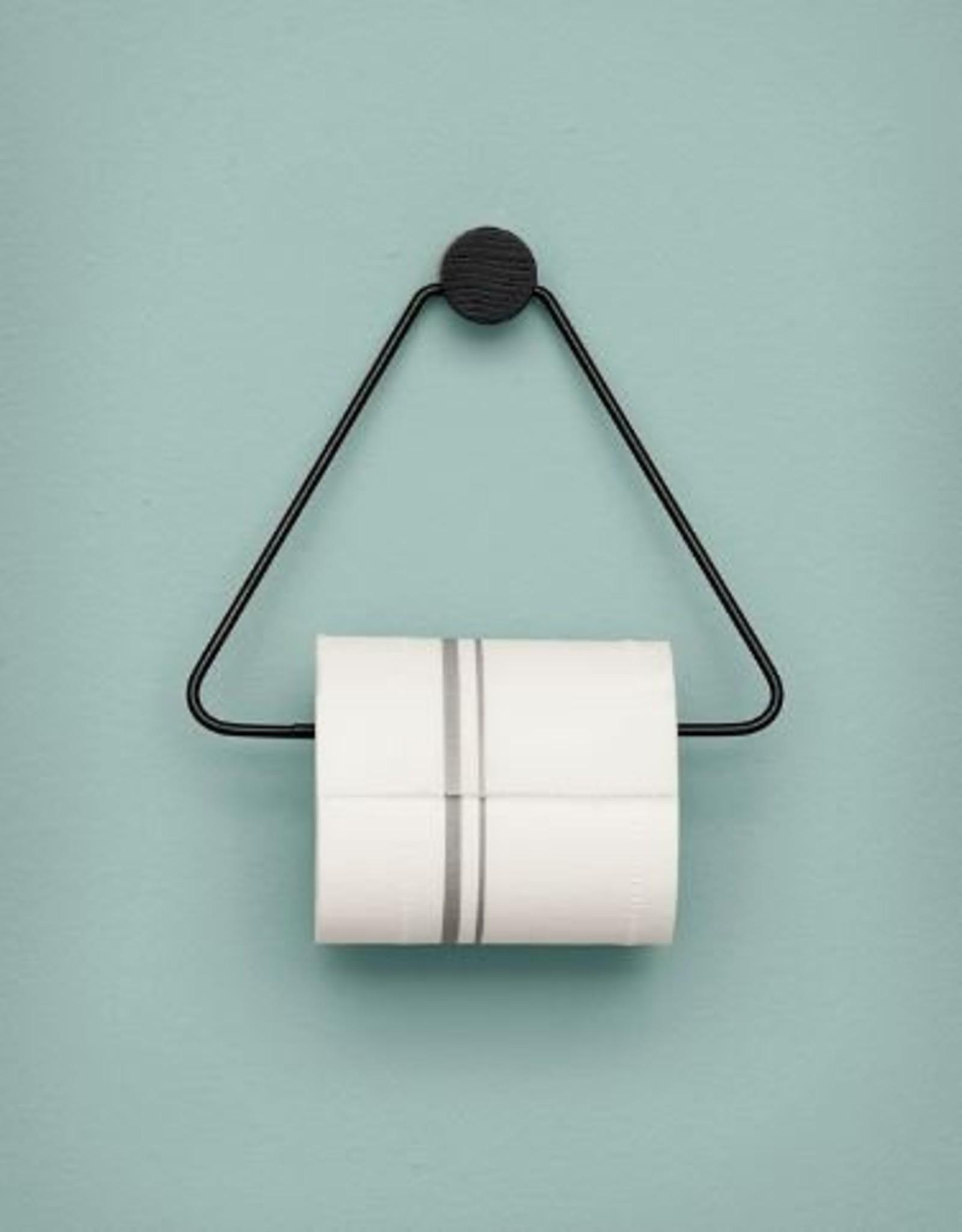 Ferm Living Porte Papier De Toilette Métal - Noir