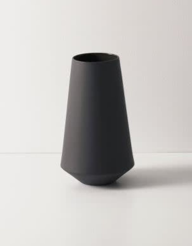 Ferm Living Sculpt Vase Well - Dark Grey
