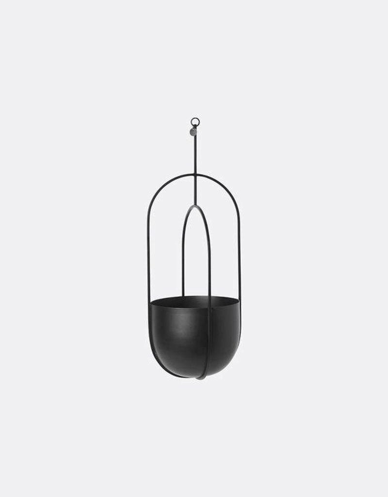 Ferm Living Hanging Deco Pot - Black