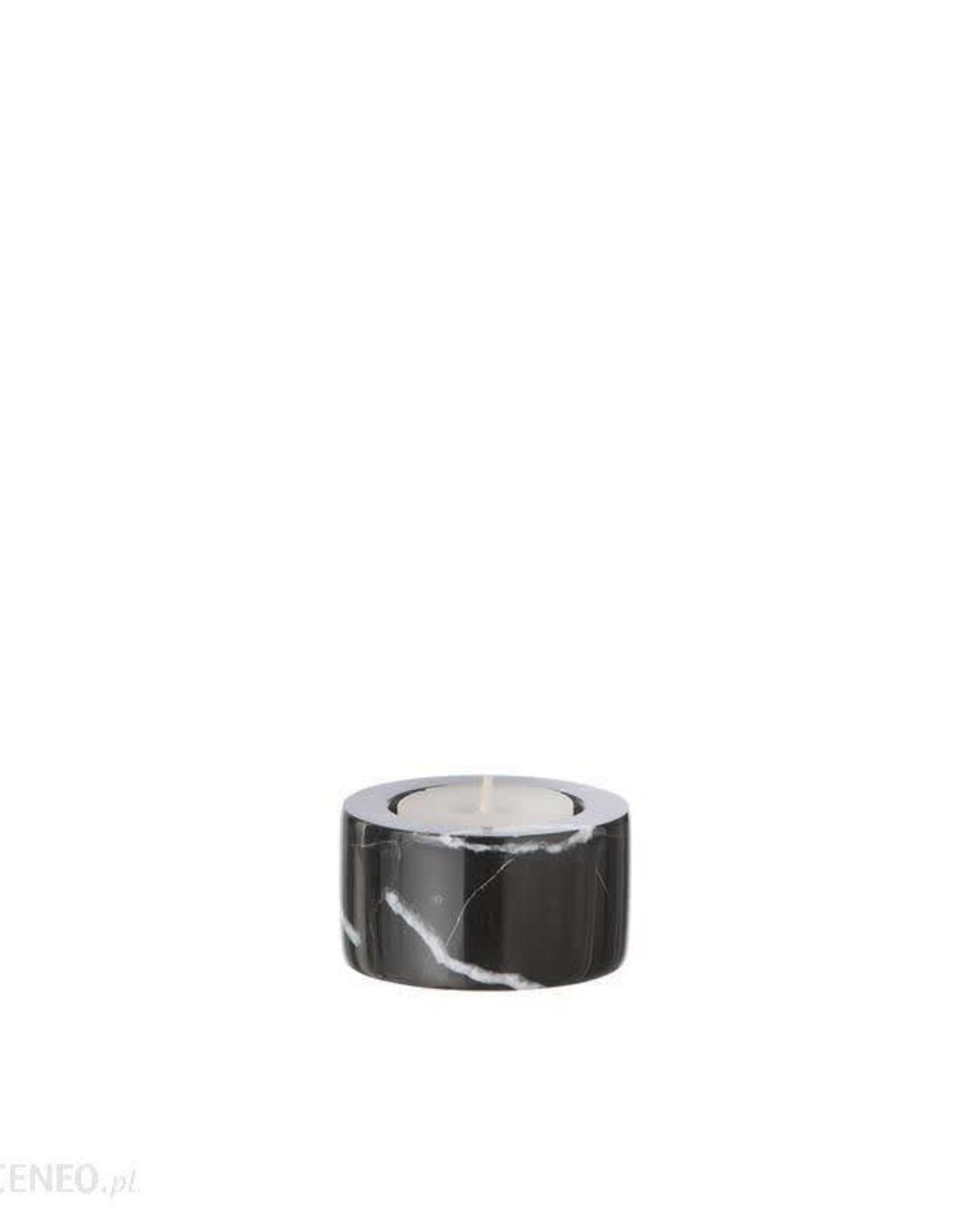 Ferm Living Marble Tea Light Candleholder - Black
