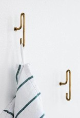 Moebe Wall Hook - Small - Brass (Set of 2)