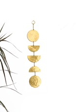 Vida + Luz Wall Hanging/Mobile Brass - Balance