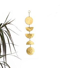 Vida + Luz Wall Hanging/Mobile Brass - Balance