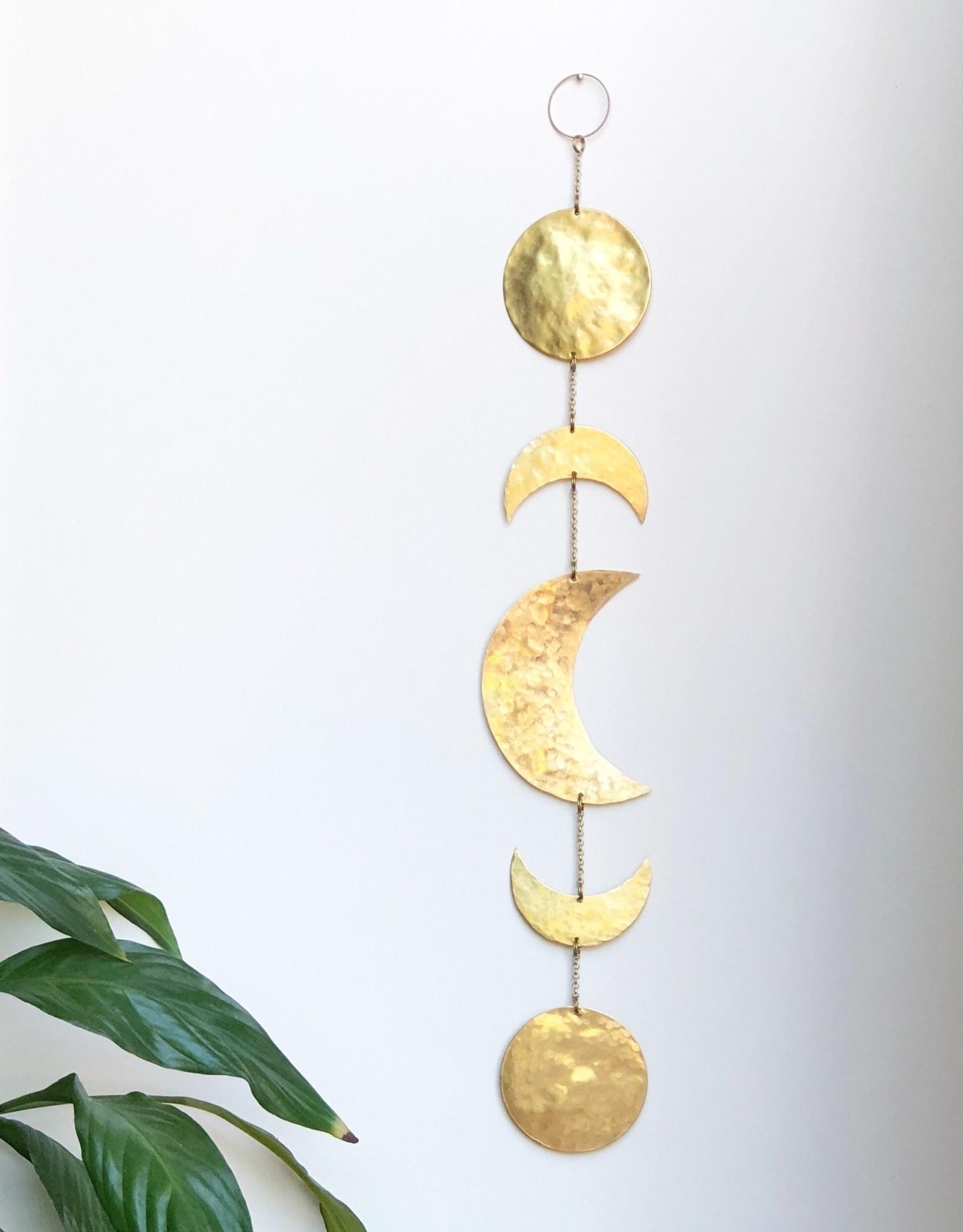 Vida + Luz Wall Hanging/Mobile Brass - Ishta
