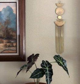 Vida + Luz Wall Hanging/Mobile Brass - Star Shine