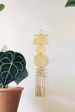Vida + Luz Wall Hanging/Mobile Brass - Irene
