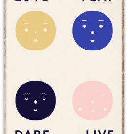 Paper Collective Four Feelings - par Mado