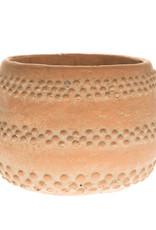 Cache Pot Ciment - Couleur Terracotta