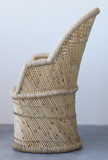 Chaise en bambou et corde