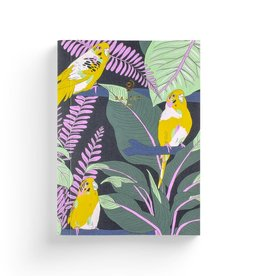 Baltic Club Notebook - Jungle Budgies