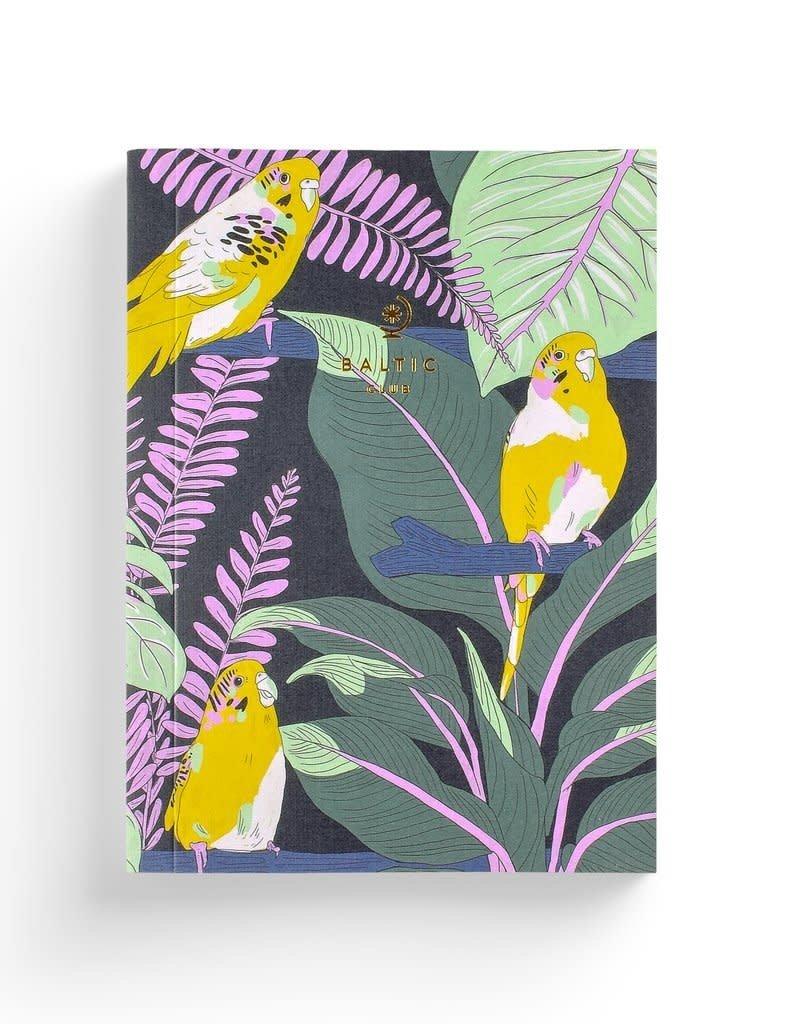 Baltic Club Notebook - Jungle Budgies