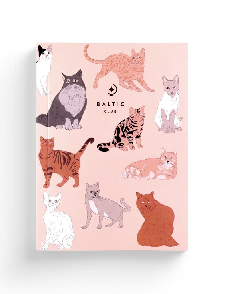 Baltic Club Cahier de notes - Chats