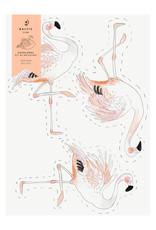 Baltic Club DIY Decorative Paper Garland - Flamingos