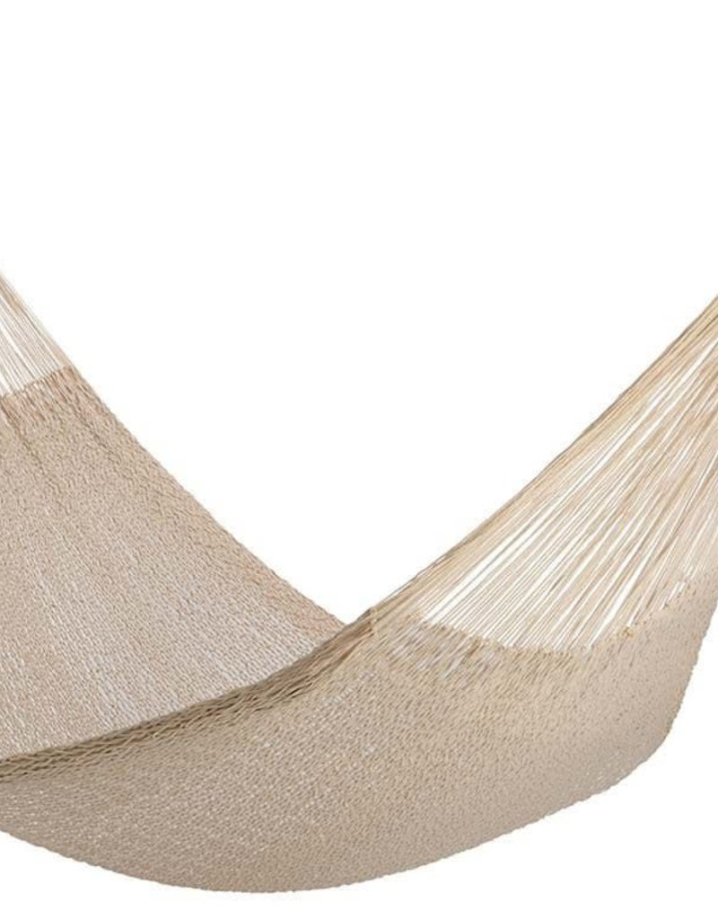 Yellow leaf Cotton Rope Hammock - Catalina