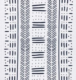 Ten and Co. Sponge Cloth Mudcloth - Black