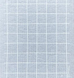 Ten and Co. Sponge Cloth - Grid Grey