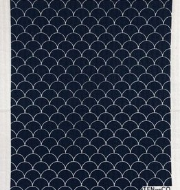 Ten and Co. Sponge Cloth Scallop - Black