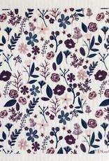 Ten and Co. Sponge Cloth Floral - Mauve