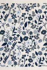 Ten and Co. Essuie-tout réutilisable Floral - Bleu