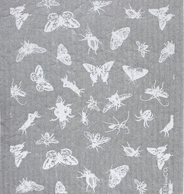 Ten and Co. Sponge Cloth Bugs - Grey