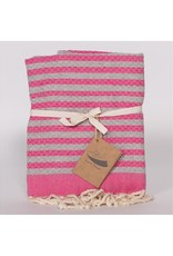 Famille Nomade Kid Fouta - Grey and Pink