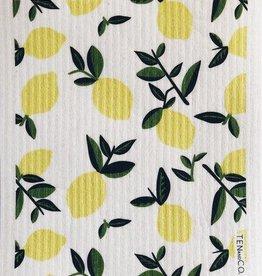Ten and Co. Sponge Cloth - Lemon