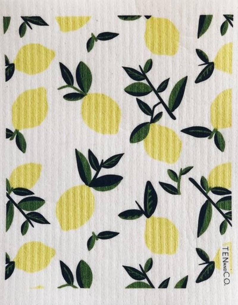 Ten and Co. Essuie-tout réutilisable - Citron