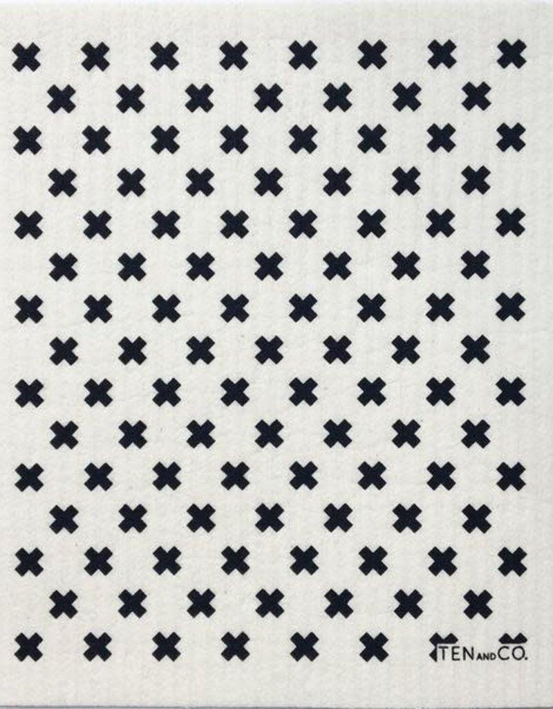 Ten and Co. Essuie-tout réutilisable Tiny x - Noir